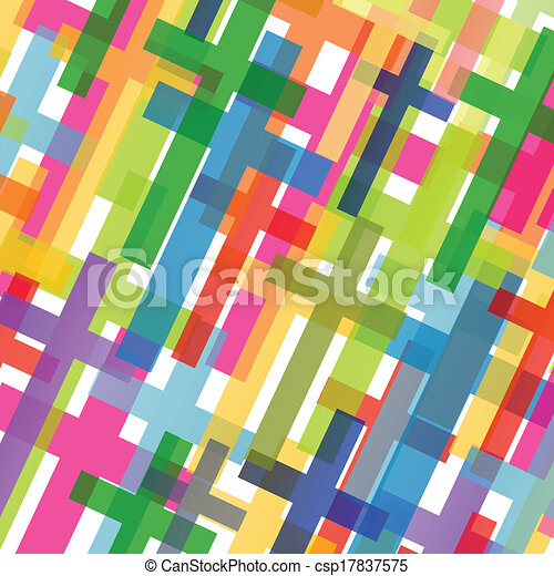 Christianity religion cross mosaic concept abstract background vector illustration for poster - csp17837575