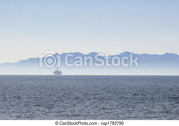 Offshore oilrig - csp1783790