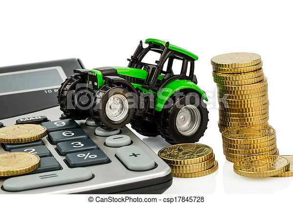 cost accounting in agriculture - csp17845728