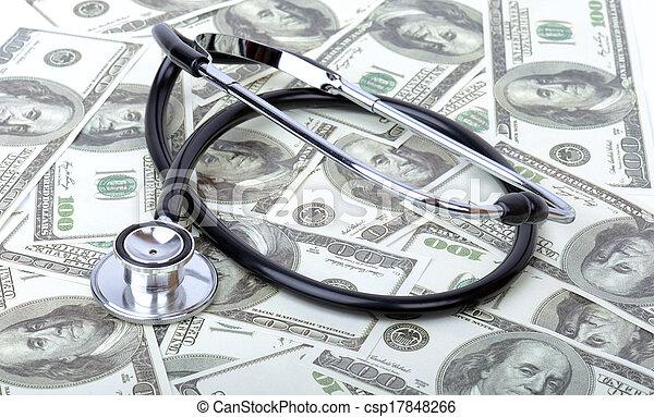 Medical costs - csp17848266