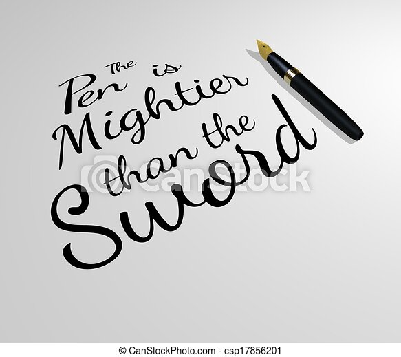 irony is mightier than the sword essay It is generally believed that the 'pen' is mightier than the 'sword', and certain  people, especially those who are optimistic about the worth of.