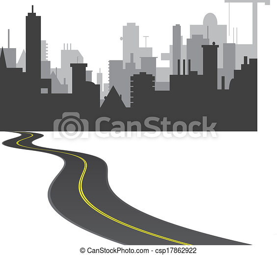 town - stock illustration, royalty free illustrations, stock clip art ...