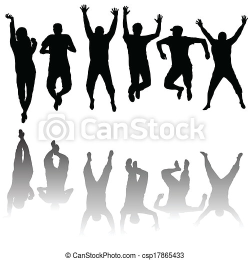 Young people Vector Clip Art Royalty Free. 193,383 Young people ...