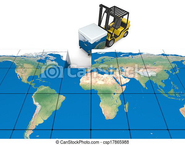 International transportation - csp17865988