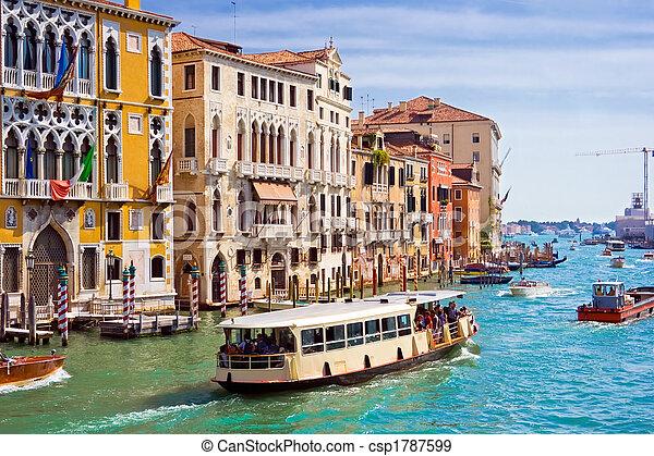 Grand Canal in Venice - csp1787599