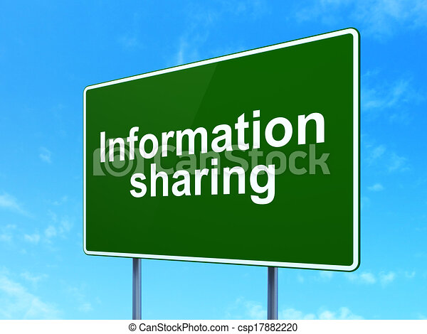 Stock Illustration - Information concept: Information Sharing on green ...: www.canstockphoto.com/information-concept:-information-sharing...