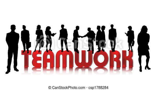 business people teamwork - csp1788284