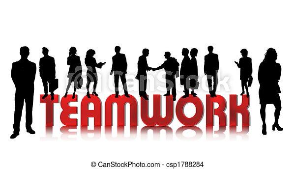 business people teamwork - csp1788284
