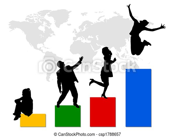business world statistic - csp1788657