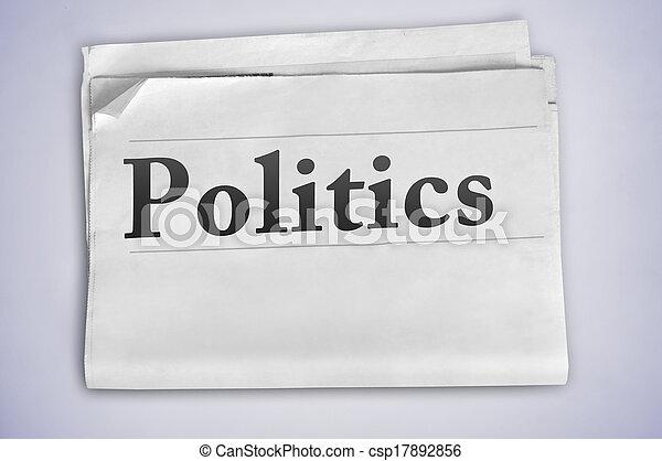 Politics word - csp17892856