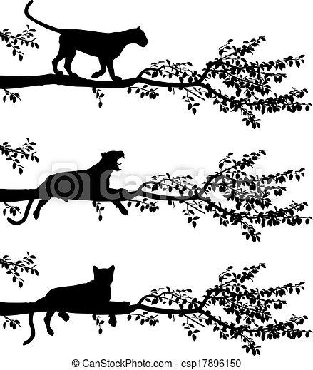 Tree leopard - csp17896150
