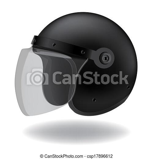 Motorcycle Helmet Clipart Police Motorcycle Helmet on