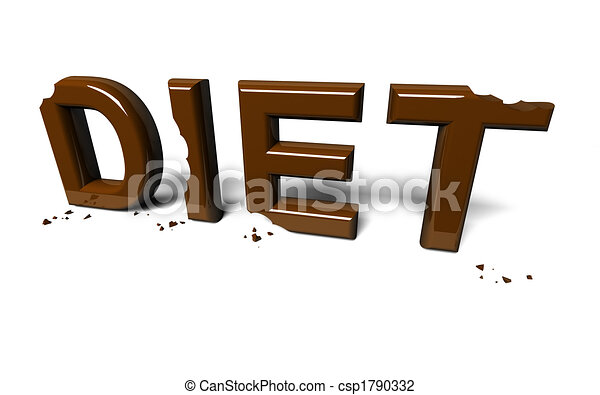 Diet not accomplished - csp1790332