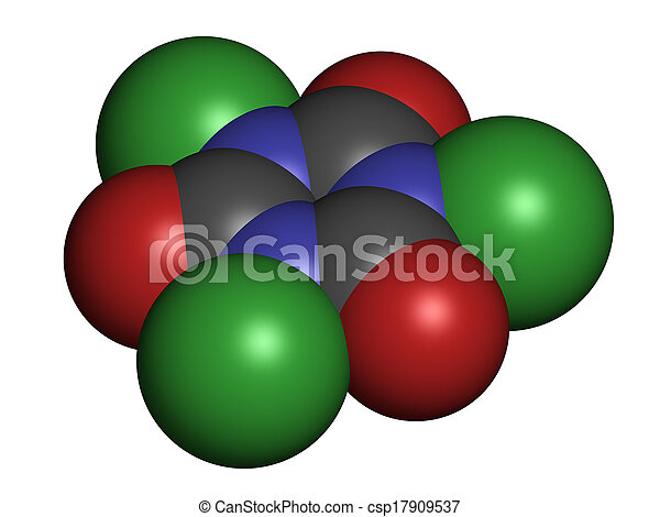 Trichloroisocyanuric acid tcca molecule used as What kind of acid is used in swimming pools