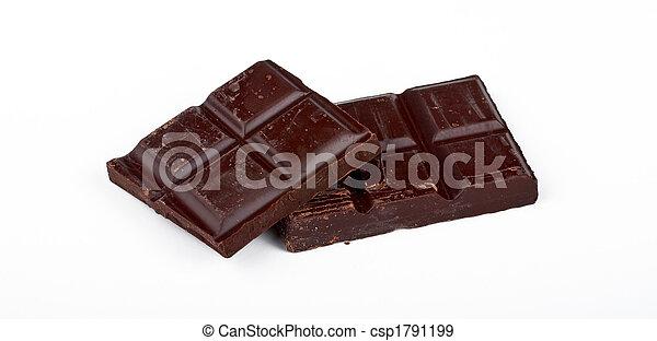 Blocks of Chocolate - csp1791199