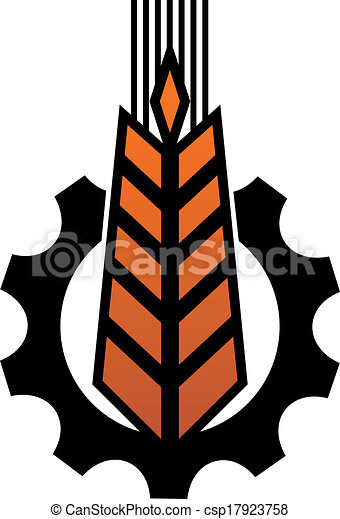 Agriculture and industry icon - csp17923758