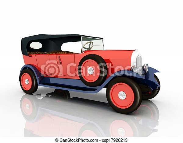 French Automobile - csp17926213