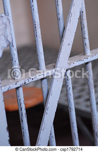 prison or jail cell - csp1792714
