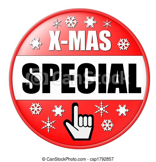 x-mas special button - csp1792857