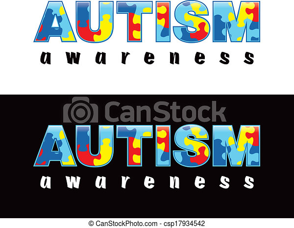 Eps Vector Of Autism Awareness The Phrase Quot Autism