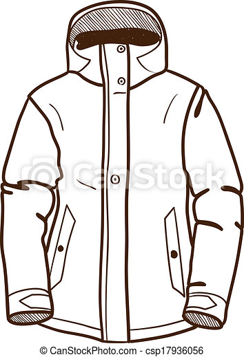 winter jacket clipart black and white 20 free Cliparts