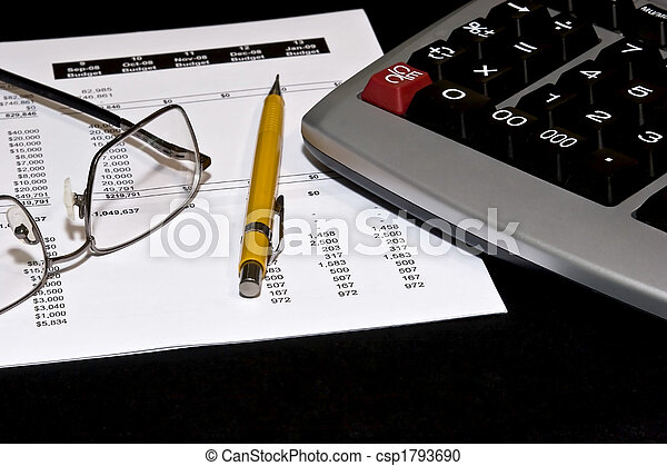 Reading financial statements - csp1793690