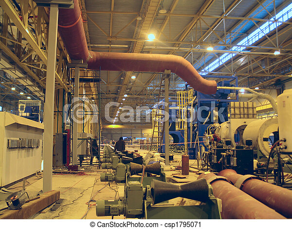 Breech rolling on ferrous metallurgy - csp1795071