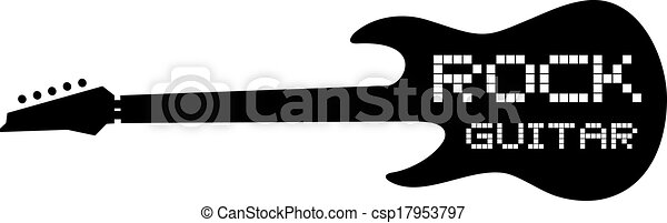 Rock guitar Clipart and Stock Illustrations. 13,384 Rock guitar ...