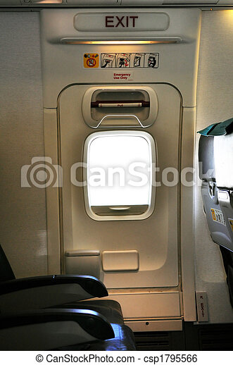 Emergency exit door.  - csp1795566