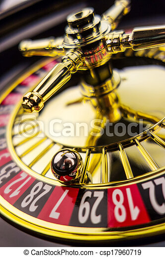 roulette gambling in the casino - csp17960719