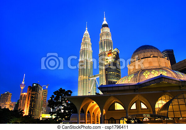Kuala Lumpur, Malaysia - csp1796411