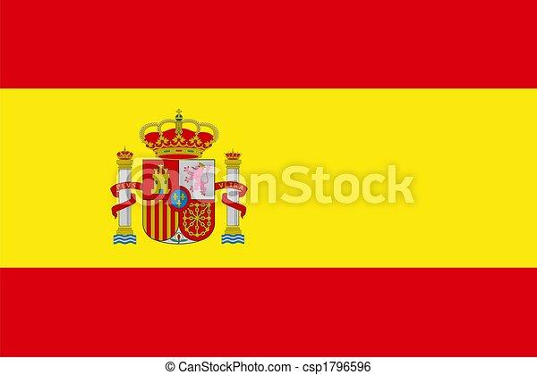 Spain flag - csp1796596