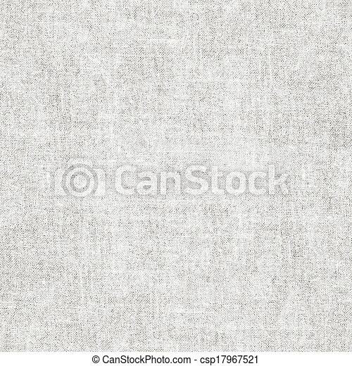 Seamless canvas fabric texture pattern. Good for any size backgound filling. - csp17967521