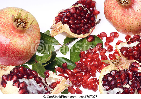 how to know a pomegranate is ripe