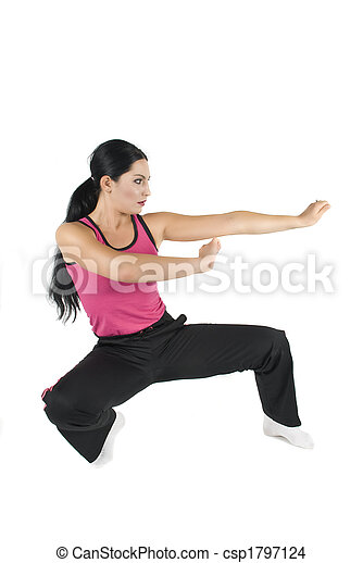 Women in self defence - csp1797124