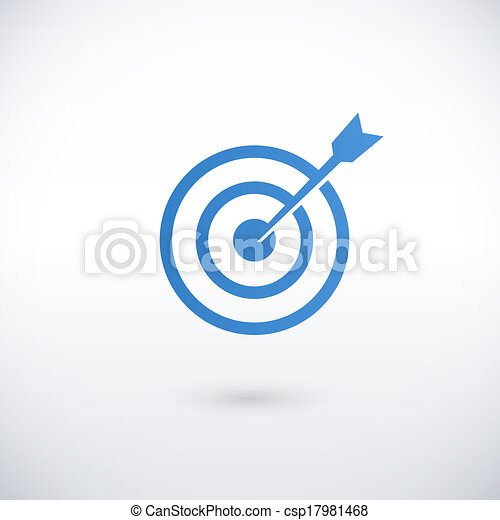 achieving goal logo design template - csp17981468