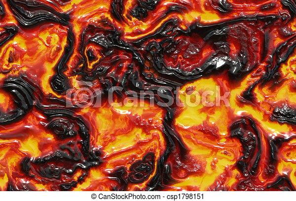 Molten Lava - csp1798151