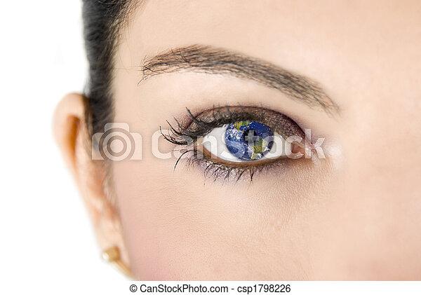 Earth eye - csp1798226