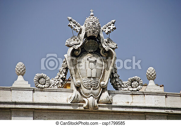 vatican city - csp1799585