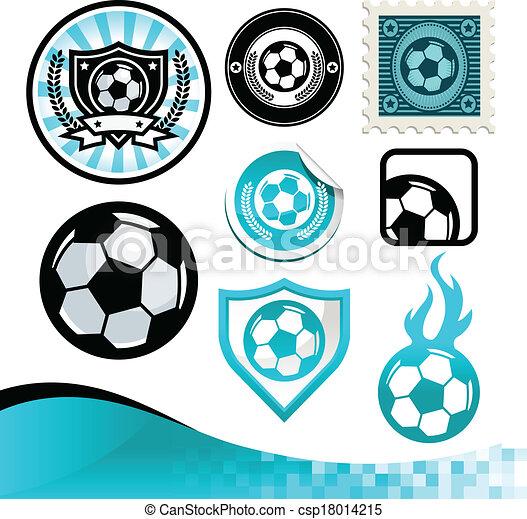 Soccer Ball Logo Design Soccer Ball Design Kit