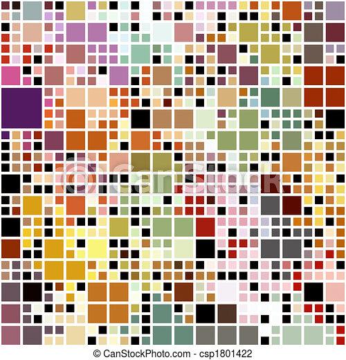 pastel colored blocks pattern - csp1801422