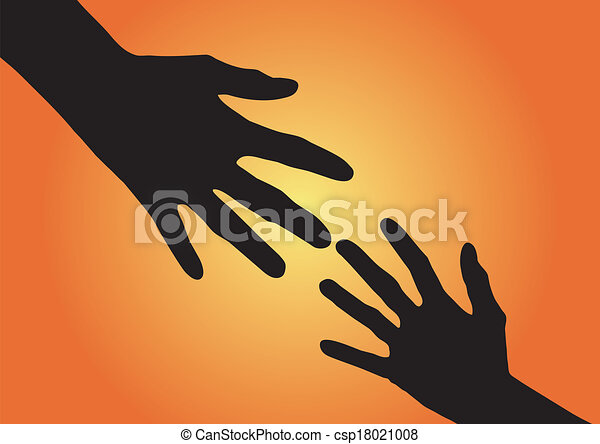 Helping hand Clip Art Vector Graphics. 27,986 Helping hand EPS ...