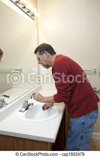 Fix bathoom leaks - csp1802479