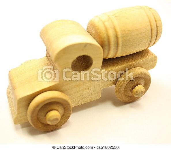 Wooden Toy Cement Truck - csp1802550