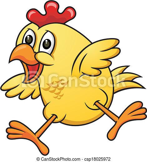 Illustrations vectoris es de poulet 06 dessin anim - Dessin de poulet ...