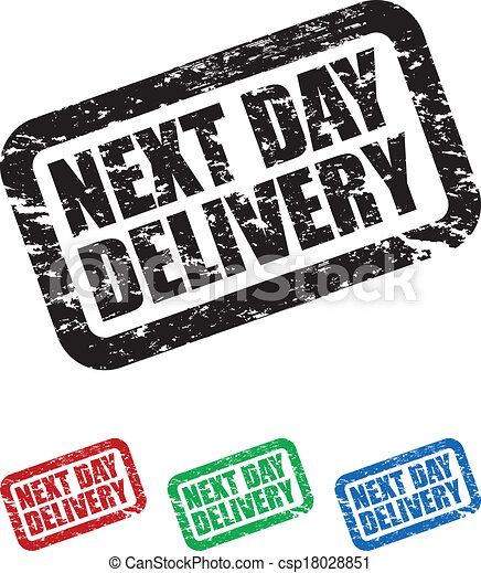 Next Day Delivery Clip Art