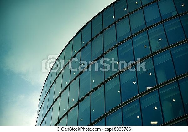 Modern architecture in London - csp18033786