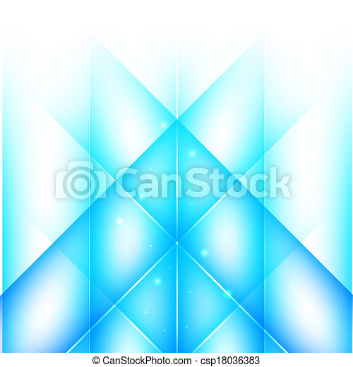 Abstract blue background  - csp18036383