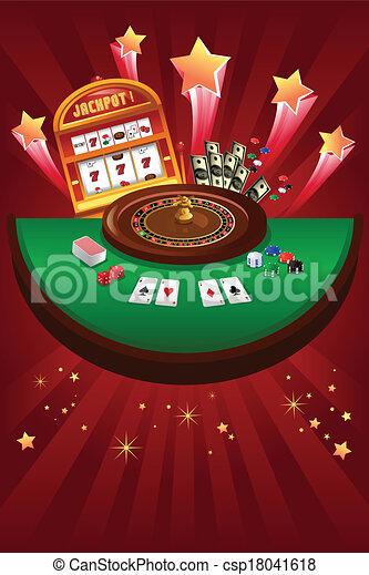 Casino gambling design - csp18041618