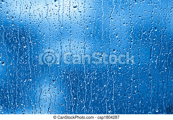 Rainy Window - csp1804287